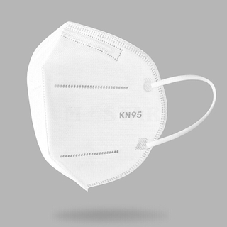 Fast Delivery Foldable Faceshield ffp2 Kn95 Respirator N95 Face Mask Disposable