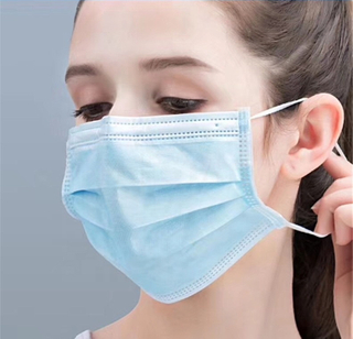 Non-Woven 3 Ply Dust Masks Anti dust Earloop 3Ply Protective Pollution Disposable Face Mask
