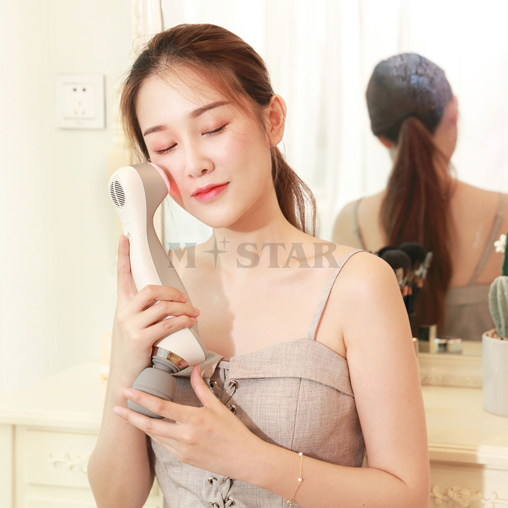 2019 skin care electric face roller massager machine