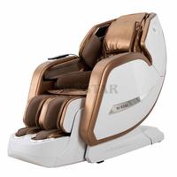2020 buy electric full body Space-saving massage chair recliner with bluetooth, led light