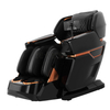 4D Zero Gravity Massage Recliner Chair with bluetooth, USB, Heating, Foot Roller, PU Leather, Black